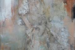 """Parfum"" 120 x 90 cm, Acryl auf Leinwand - verkauft -"