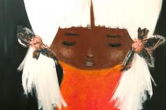 """""""Mascha"""" Acryl auf Leinwand 120 cm x 90 cm"""