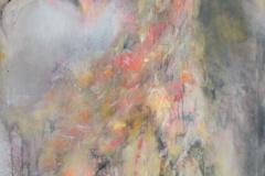 """""""Die Schwebende"""" 100x170 cm, Acryl auf Leinwand - verkauft -"""