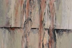 """Schwestern"" I 80x60 cm, Acryl auf Leinwand - verkauft -"