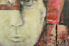 """ohne Titel"" 100x70 cm, Acryl auf Leinwand - verkauft -"