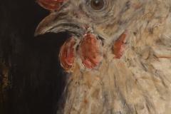 """Greta"" Acryl auf Leinwand 100 cm x 70 cm - verkauft  -"