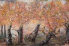 """""""Wald"""" 120x200 cm, Acryl auf Leinwand - verkauft -"""
